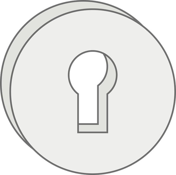 Free Vector Graphic Keyhole Keyhole Plate Lock Key