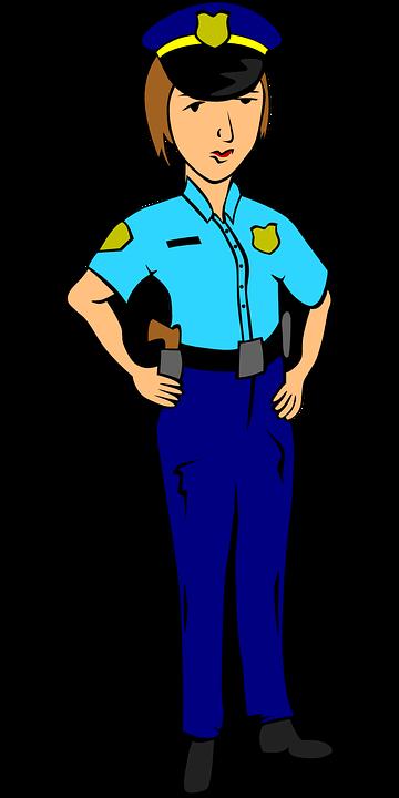 Polizei Offizier Polizist 183 Kostenlose Vektorgrafik Auf Pixabay