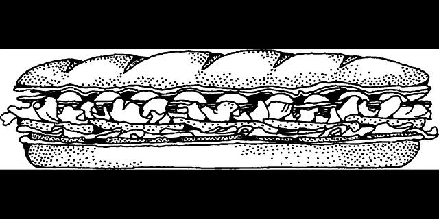 Sandwich baguette bread free vector graphic on pixabay - Grille pain transparent magimix ...