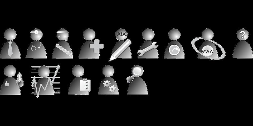 Vector gratis: Usuario, Personas, Trabajo - Imagen gratis