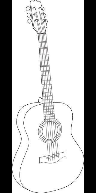 47 Koleksi Gambar Hitam Putih Gitar HD Terbaik