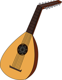 Lute Mandolin Music Musical Instrument Ins