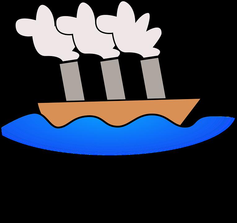 Navire Bateau à Vapeur Dessin Images Vectorielles Gratuites Sur