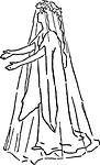 spirit, costume, ghost