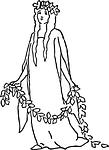 fairy, costume, woman