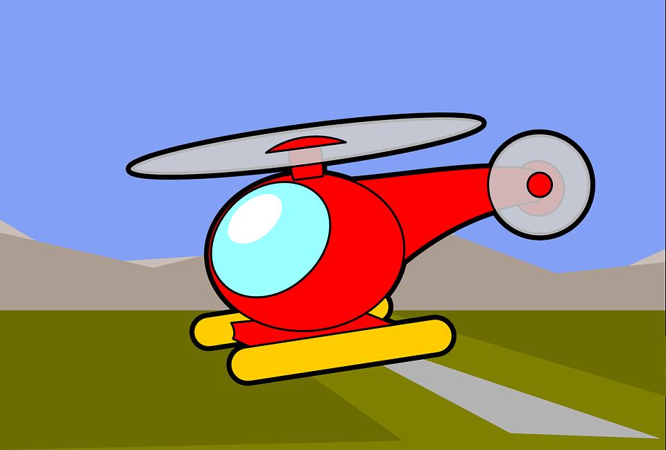 Helikopter Merah Buku Mewarnai Gambar Vektor Gratis Di Pixabay