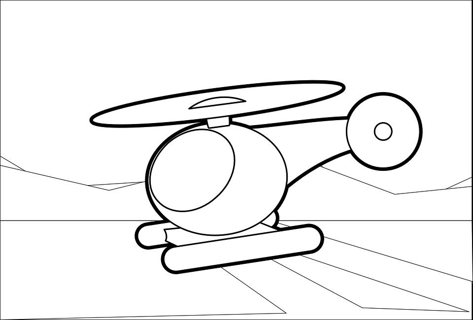 Helikopter Lalat Pesawat Gambar Vektor Gratis Di Pixabay