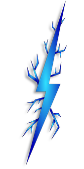 Lightning Bolt Blue Vpn Vir