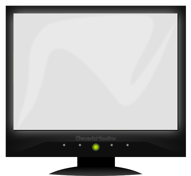 Free Vector Graphic Monitor Screen Computer Led Tv