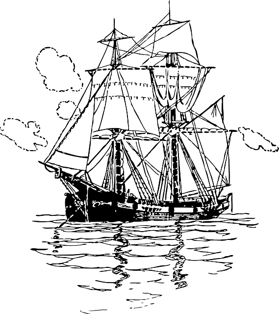 Free Vector Graphic Ship Transportation Sailing Free
