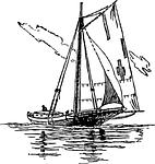 transportation, sailing