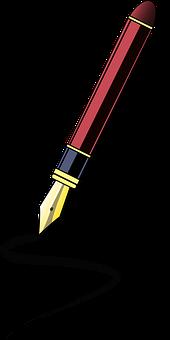 Kalligraphie, Büro, Schule, Schreiben
