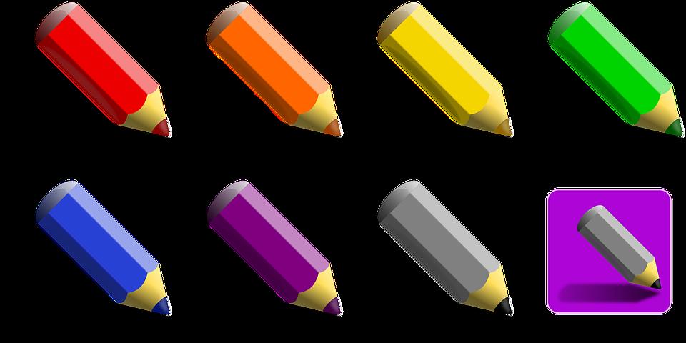 Красный карандаш картинки для детей на прозрачном фоне