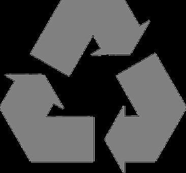リサイクル, 矢印, シンボル, 循環, サイクル, 露光