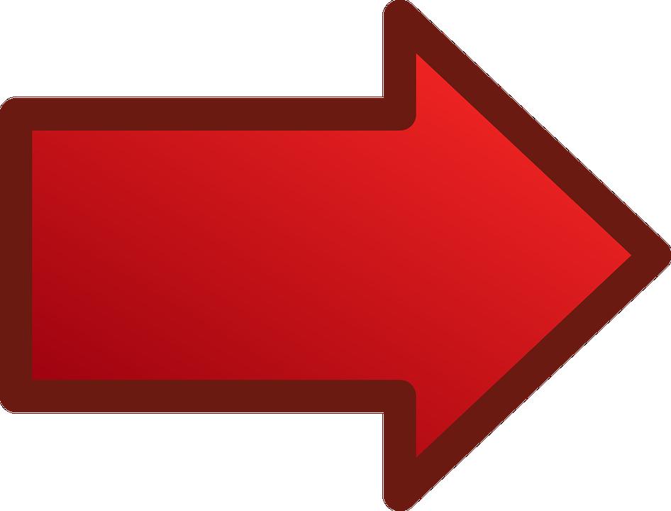 Mũi Tên Màu Đỏ Bóng - Miễn Phí vector hình ảnh trên Pixabay