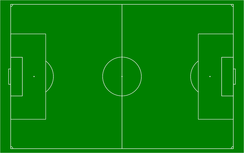 f9e15da01 Futbal Futbalové Ihrisko Športové - Vektorová grafika zdarma na Pixabay