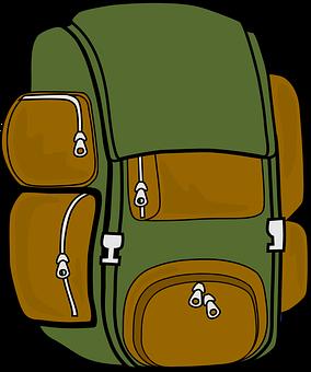 バックパック, バッグ, ハイキング, 旅行, 荷物, アウトドア