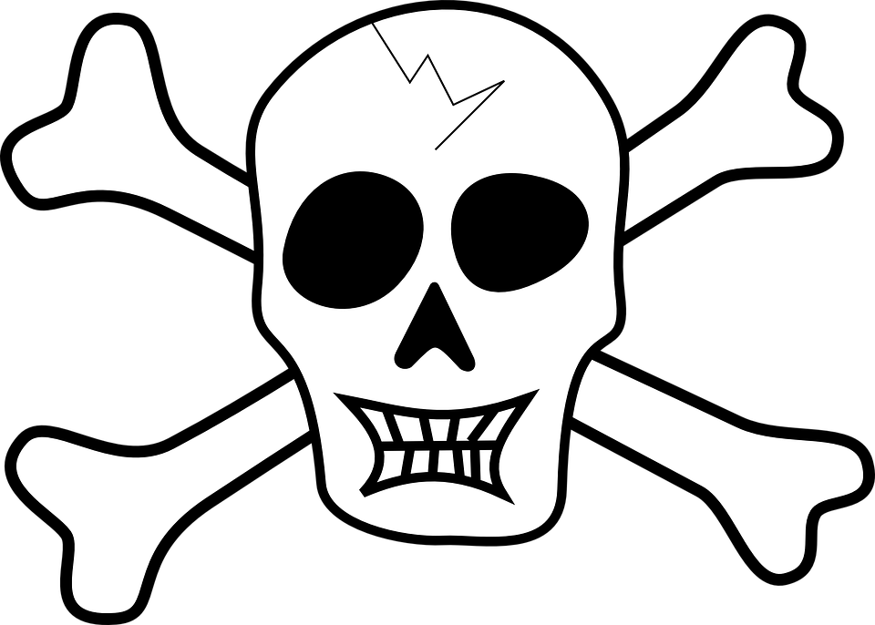 kostenlose vektorgrafik pirat produktpiraterie sch del