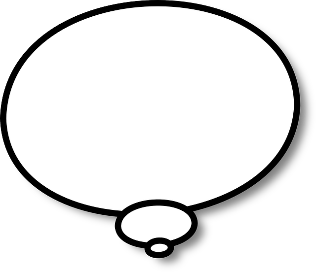Think Thinking Speech Bubble · Free vector graphic on Pixabay