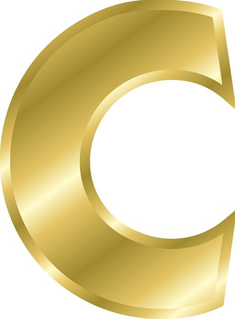 Letter C Capital  U00b7 Free Vector Graphic On Pixabay