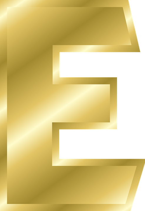 Letter E Capital Free Vector Graphic On Pixabay