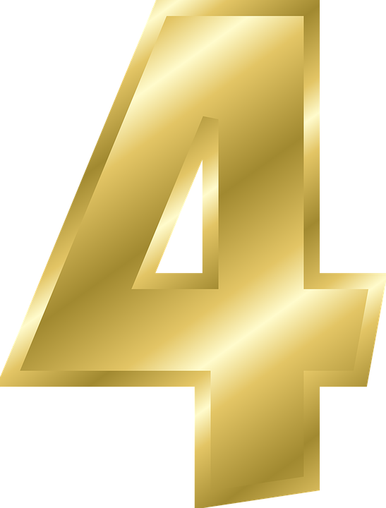 number 4 alphabet free vector graphic on pixabay