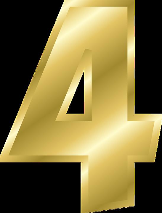 number 4 alphabet  u00b7 free vector graphic on pixabay Old -Fashioned Typewriter Old -Fashioned Typewriter