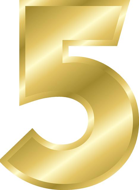 Number 5 Alphabet  U00b7 Free Vector Graphic On Pixabay