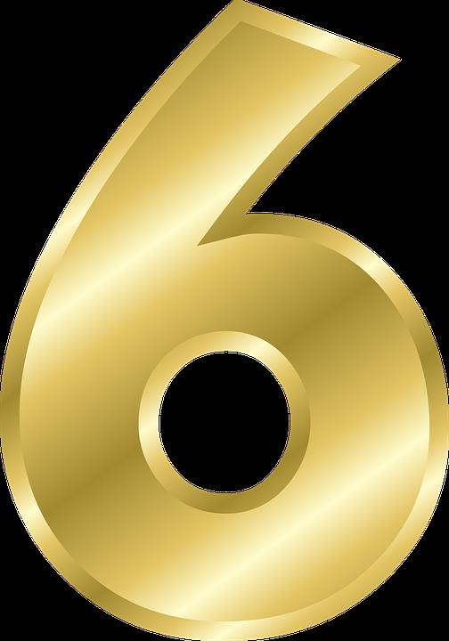 kostenlose vektorgrafik zahl 6 alphabet abc gold kostenloses bild auf pixabay 146026. Black Bedroom Furniture Sets. Home Design Ideas