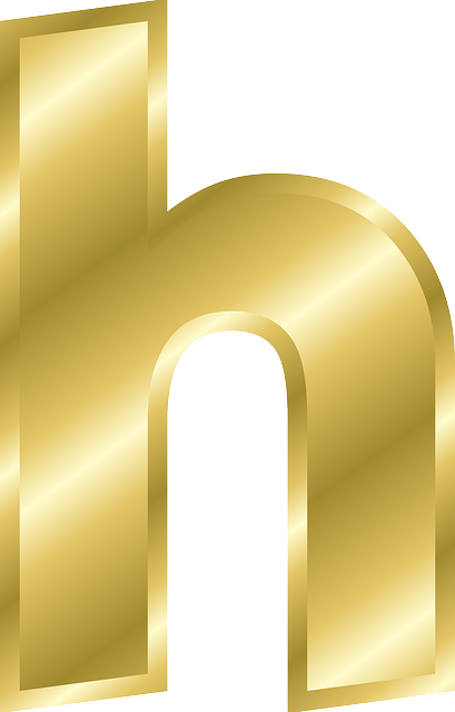 Letter H Lowercase 183 Free Vector Graphic On Pixabay