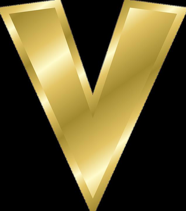 Letter V Lowercase Alphabet Abc