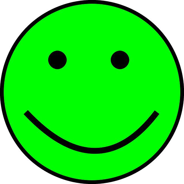 Smiley Vert Simple Images Vectorielles Gratuites Sur Pixabay