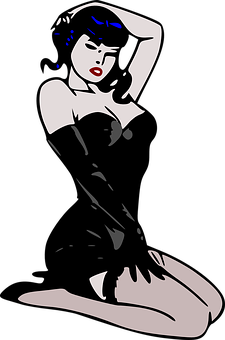 Vector pinup clip art what necessary