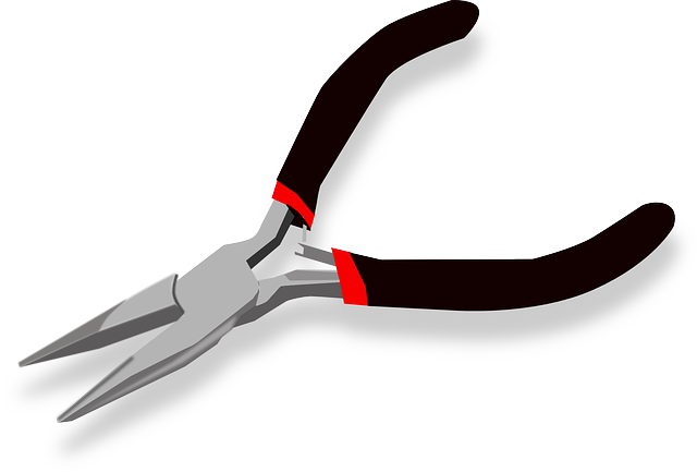 pliers forceps tongs  u00b7 free vector graphic on pixabay