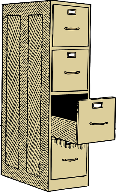 File Cabinet Office Furniture Free vector graphic on Pixabay