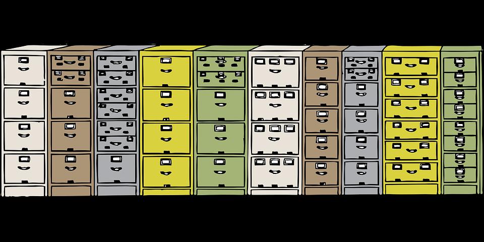무료 벡터 그래픽: 사물함, 캐비닛, 가구, 사무실, 파일, 일 ...