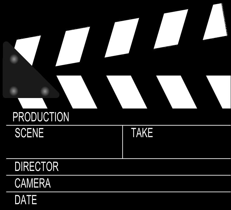 Filmklapper, Klepel, Duig, Leisteen, Sticks, Boord