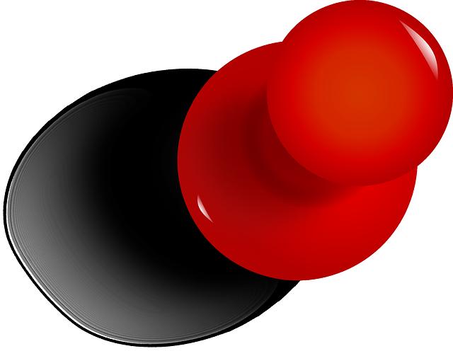 Drawing Pin Tack Thumbtack · Free Vector Graphic On Pixabay