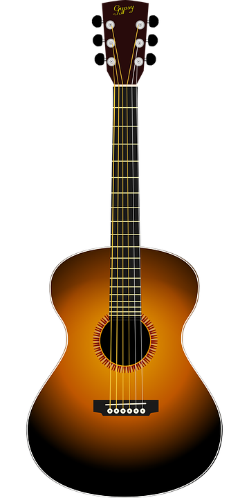 Acoustic Guitar · Free vector graphic on Pixabay