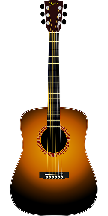 acoustic guitar free vector graphic on pixabay rh pixabay com acoustic guitar vector icon gibson acoustic guitar vector