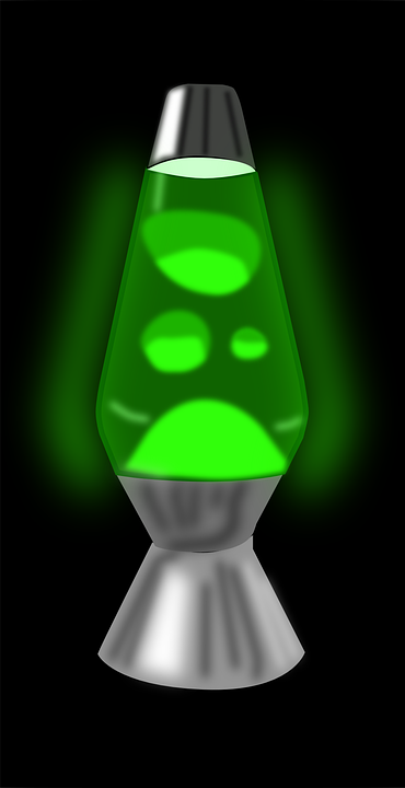 Lava Lamp Glowing Lights Lamp Lava Retro Glow