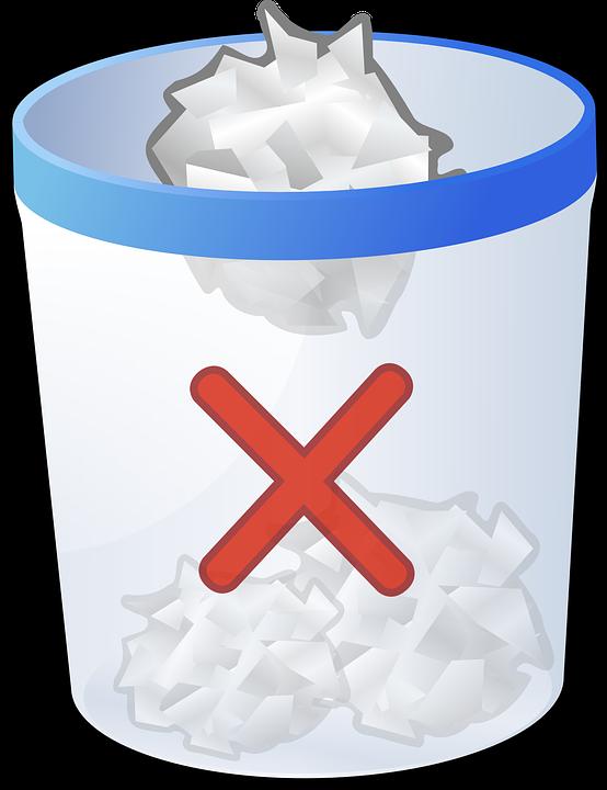 Free vector graphic: Recycle Bin, Bin, Trash, Trashcan - Free ...