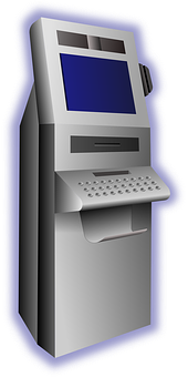 Atm, Terminal, Withdraw Money, Computer