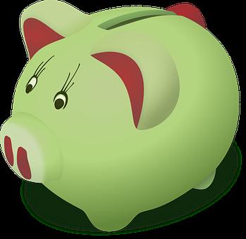 Tirelire, Penny Banque, Cochon, Porcinet
