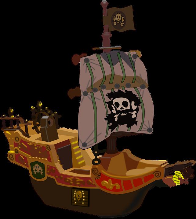 Barco Pirata Bucanero · Gráficos vectoriales gratis en Pixabay
