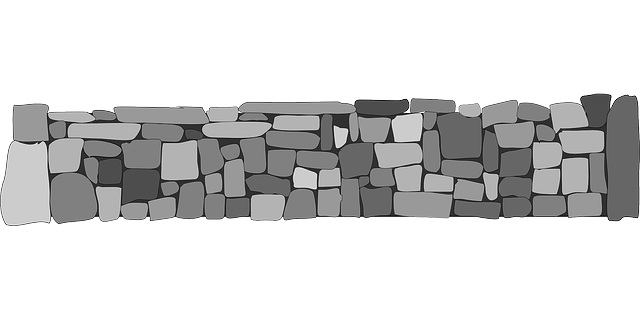 stones walls fences  u00b7 free vector graphic on pixabay stone wall drawing clipart stone wall drawing clipart