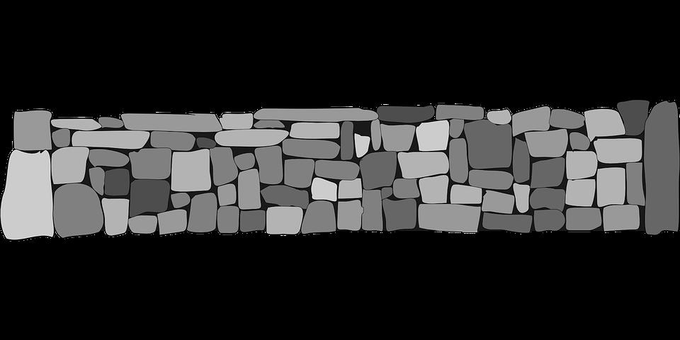 Stones Walls Fences 183 Free Vector Graphic On Pixabay