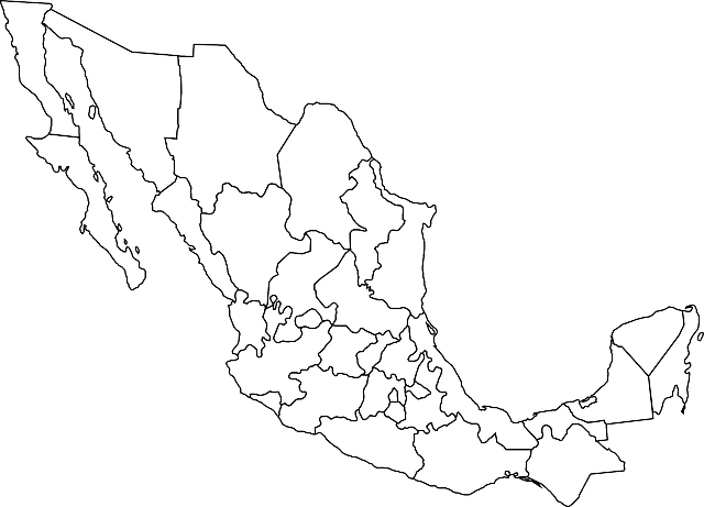 Icono Mapa Mexico Png