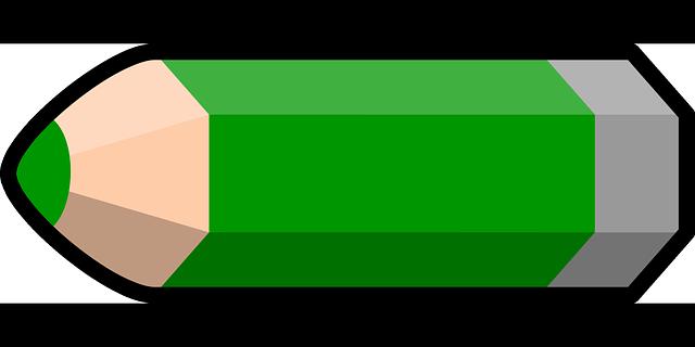 Dibujos Animados De Color Verde: Vector Gratis: Lápiz, Verde, Lápiz Color, Pintura