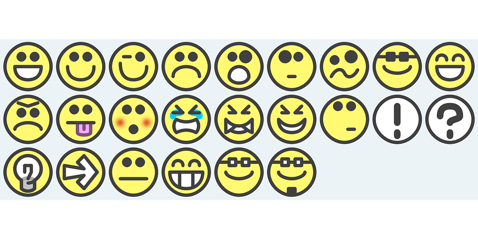 Smiley Set Flat · Free vector graphic on Pixabay